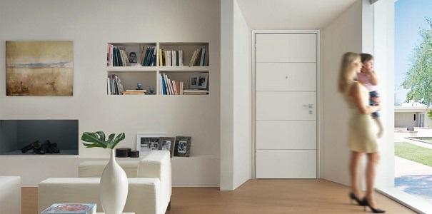Modelli di porte blindate porta blindata dierre modello - Porta a ventaglio ...